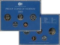 Изображение Подарочные монеты Норвегия Набор 2002 года 2002  Proof В набор входят четыр