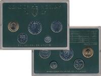 Изображение Подарочные монеты Норвегия Набор монет 1987 года 1987  UNC