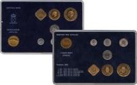 Изображение Подарочные монеты Антильские острова Выпуск 1990 года 1990  UNC