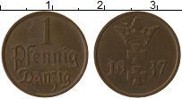Продать Монеты Данциг 1 пфенниг 1937 Медь