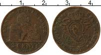 Изображение Монеты Бельгия 2 сантима 1909 Медь VF