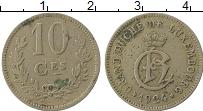 Изображение Монеты Люксембург 10 сантим 1924 Медно-никель VF