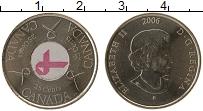 Изображение Монеты Канада 25 центов 2006 Медно-никель UNC