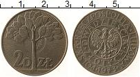 Изображение Монеты Польша 20 злотых 1973 Медно-никель UNC- Проба