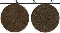 Изображение Монеты Бельгия 1 цент 1907 Медь VF