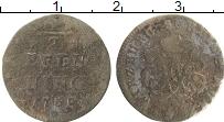 Продать Монеты Вюрцбург 1/2 пфеннига 1760 Медь