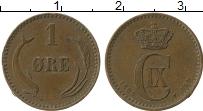 Изображение Монеты Дания 1 эре 1899 Медь VF