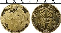 Продать Монеты Того 100 франков 2013 Позолота