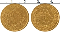 Изображение Монеты Турция 100 куруш 1856 Золото VF+ 1255/17, Абдул Меджи