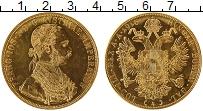 Изображение Монеты Европа Австрия 4 дуката 1915 Золото Proof-