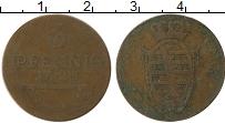 Изображение Монеты Германия Саксе-Кобург-Саалфельд 3 пфеннига 1825 Медь VF