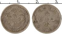 Изображение Монеты Китай Фуцзянь 20 центов 1896 Серебро VF