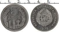 Изображение Монеты Румыния 5 лей 1978 Алюминий UNC
