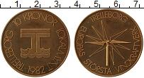 Изображение Монеты Швеция 10 крон 1982 Медь Proof- Городские деньги