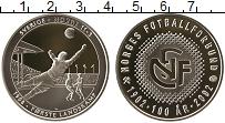 Изображение Монеты Норвегия Жетон 2002 Серебро Proof 100 лет Норвежскому