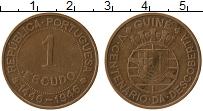 Продать Монеты Гвинея-Бисау 1 эскудо 1946 Бронза