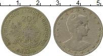 Изображение Монеты Бразилия 200 рейс 1901 Медно-никель VF