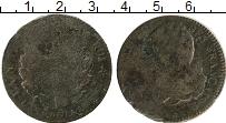 Изображение Монеты Франция 2 соля 0 Бронза F ВВ