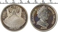 Изображение Монеты Африка Остров Гоф 1 крона 2005 Серебро Proof-