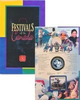 Изображение Подарочные монеты Канада 50 центов 2001 Серебро Proof