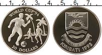 Изображение Монеты Кирибати 20 долларов 1993 Серебро Proof- Чемпионат  мира  по