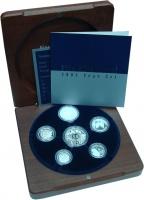 Изображение Подарочные монеты Австралия Набор 2003 года Пруф серебро 2003 Серебро Proof