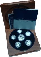 Изображение Подарочные монеты Австралия Набор 2005 года Пруф серебро 2005 Серебро Proof