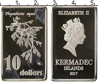 Изображение Монеты Австралия 10 долларов 2017 Посеребрение Proof- UNUSUAL, Острова Кер