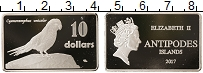 Изображение Монеты Новая Зеландия 10 долларов 2017 Посеребрение Proof-