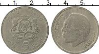 Изображение Монеты Марокко 5 дирхам 1980 Медно-никель VF