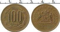 Изображение Монеты Чили 100 песо 1999 Медь XF