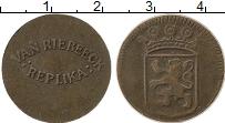 Изображение Монеты Нидерланды Жетон 0 Медь VF