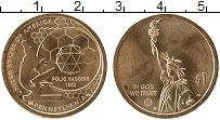 Продать Монеты США 1 доллар 2018 Латунь