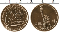 Изображение Мелочь США 1 доллар 2019 Латунь UNC Американские инновац