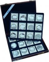 Изображение Подарочные монеты Германия Первые Евро-монеты 0 Серебро Proof