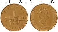 Изображение Монеты Канада 1 доллар 1992 Латунь XF