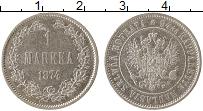 Изображение Монеты Финляндия 1 марка 1874 Серебро XF
