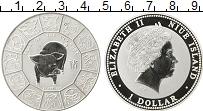 Изображение Монеты Ниуэ 1 доллар 2007 Серебро Proof Год свиньи