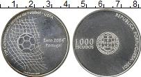 Изображение Монеты Португалия 1000 эскудо 2001 Серебро UNC-