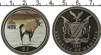 Изображение Мелочь Намибия 1 доллар 1995 Медно-никель UNC Антилопа