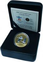 Изображение Подарочные монеты Канада 75 долларов 2007 Золото Proof Монета посвящена Оли