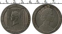 Изображение Монеты Остров Мэн 1 крона 1990 Медно-никель UNC