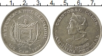 Изображение Монеты Северная Америка Сальвадор 1 песо 1904 Серебро XF