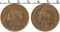 Продать Монеты Новая Каледония 100 франков 1976 Медь