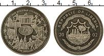 Изображение Монеты Либерия 5 долларов 2002 Медно-никель UNC- Новая европейская ва