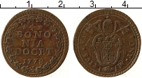 Изображение Монеты Италия Болонья 1 кватрино 1778 Медь XF