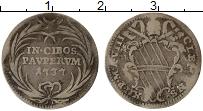 Изображение Монеты Ватикан 1 гроссо 1737 Серебро VF