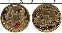 Изображение Монеты Ниуэ 5 долларов 2009 Золото Proof Янтарный путь - Вроц