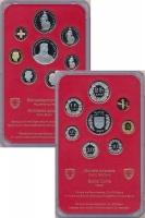 Изображение Подарочные монеты Швейцария Набор 1995 года 1995  Proof В набор входят восем