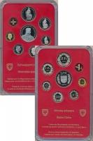 Изображение Подарочные монеты Швейцария Набор 1983 года 1983  Proof